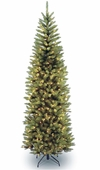 Englewood Fir <b>Pencil</b> Prelit Artificial Christmas Tree