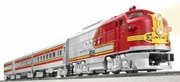 Lionel Santa Fe Super Chief Passenger Train Set (O Gauge)