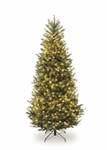Cinnaminson Fir <b>Slim</b> Prelit Artificial Christmas Trees