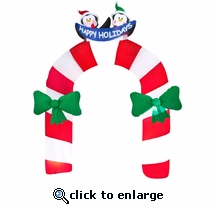 Penguin Archway Candy Cane