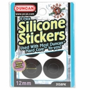 Duncan 12mm Silicone Stickers