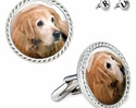 Golden Retriever Cuff Links SPECIAL PRICE!