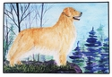 Large Golden Retriever Floor Mat