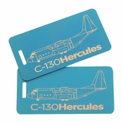 C-130 Bag Tag Set of Two