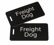 Freight Dog Bag Tag Set Of Two