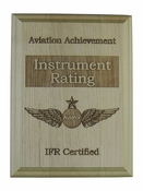 Instrument Rating Aviation Award