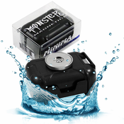 Monster Magnetics Waterproof GPS Tracker Magnetic Case Stash Box Magnet Mount