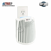 True IP Covert Wireless Internet Surveillance Camera System for Home or Office - Outlet-Mounted Air Freshener