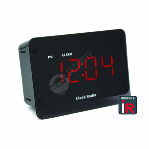SleuthGear Zone Shield Night Vision Clock Radio Hidden Video Recording System