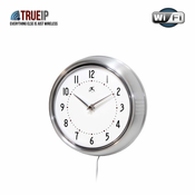 True IP Covert Wireless IP Cameras for Home or Office - Wall Clock