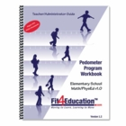 Fit4Ed - Pedometer Math Program Workbook (Book only)