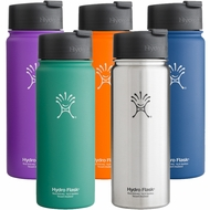 Hydro Flask 18 oz. Wide Mouth Insulated Stainless Steel Bottles With Flip Lid