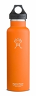 Hydro Flask 21 oz. Standard Mouth Insulated Stainless Steel Bottle (Orange Zest)