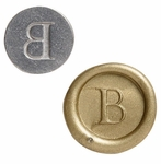 """Interchangeable """"Seattle"""" 3/4"""" Initial<br> Wax Seal Stamp"""