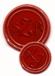 Monogram | 2-3 Initials <br>Wax Seal Stamps