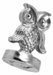 """Owl 3/4"""" Initial Wax Seal Stamp"""