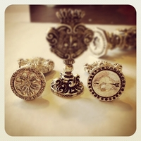 Silver Plated<br>Italian Designs<br>Wax Seal Stamp