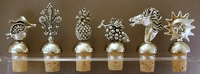 Silver Plated Wine Stoppers