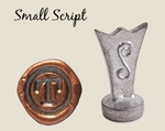 """Whimsical 1/2"""" Initial <br>Wax Seal Stamp"""