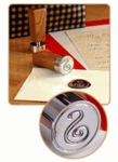 Initial Wax Seal Stamp - <br>Wood Handle