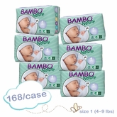 Bambo Nature Newborn Premium Baby Diapers - Case