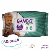 Bambo Nature Wet Wipes 6 x 7.5 - Pack
