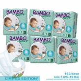 European Version - Bambo Nature Junior Premium Baby Diapers - Convenience Pack - Case