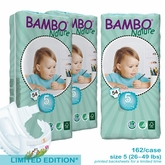 European Version - Bambo Nature Junior Premium Baby Diapers - Tall Pack  - Case