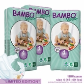 European Version - Bambo Nature Maxi Premium Baby Diapers - Tall Pack - Case- Closeout