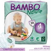 European Version - Bambo Nature Maxi Premium Baby Diapers - Convenience Pack - Bag