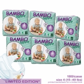 European Version - Bambo Nature Maxi Premium Baby Diapers - Convenience Pack - Case - Closeout