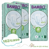 New Size - Bambo Nature Maxi Plus Premium Baby Diapers -Tall Pack - Case
