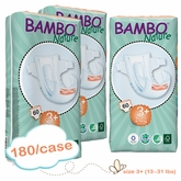 New Size - Bambo Nature Midi Plus Premium Baby Diapers -Tall Pack - Case