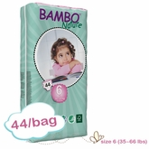 New Size - Bambo Nature XL Plus Premium Baby Diapers - Tall Pack - Bag