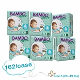 US Version - Bambo Nature Junior Premium Baby Diapers - Convenience Pack - Case