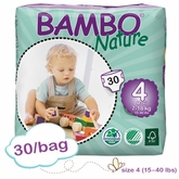 Bambo Nature Maxi Premium Baby Diapers - Convenience Pack - Bag