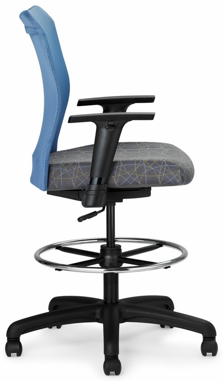 All Seating Inertia Mesh Drafting Chair 78019 Direct Office Chairs