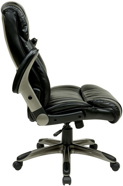 Eco Leather Executive Chair With Adjustable Arms ECH38615A