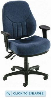 Lorell Bailey Series Fabric Office Chair [81101]