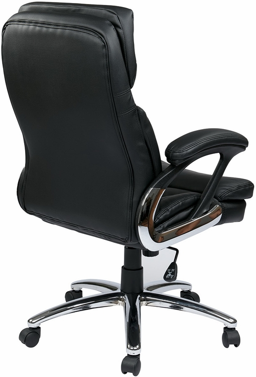 office star faux leather executive chair fl2604c