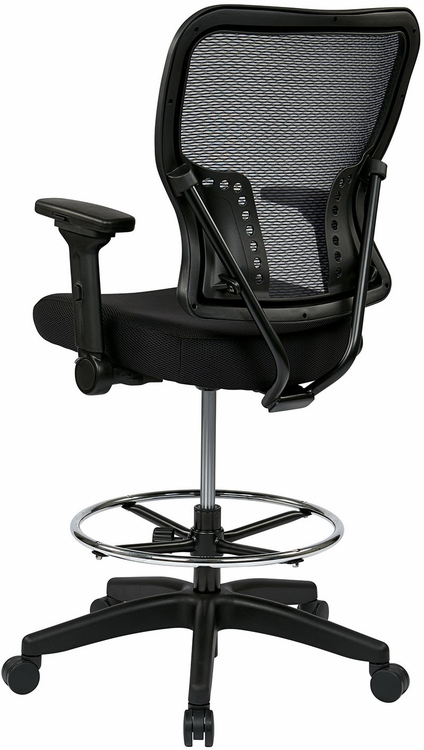 Office Star Mesh Drafting Chair With Fold Away Arms 213 37N2F3D
