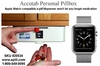 Weekly Pillbox / Pill Dispenser for Apple Watch or Cadex Watch (No Monthly Fees)