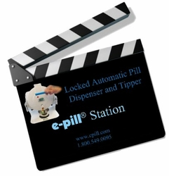 Video: Automatic e-pill Station. How this pill dispenser works.