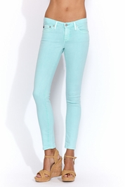 AG Adriano Goldschmied Ankle legging in pigment seafoam