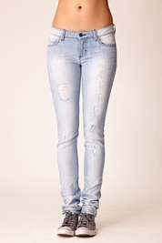 Siwy Leona Classic Pocket Drainpipe Skinny in Ether FINAL SALE