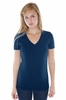 Women's Hemp Organic Cotton V-Neck T-Shirt
