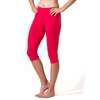 Women's Organic Cotton Capri Legging
