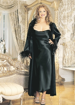 Plus Size Gowns and Robes