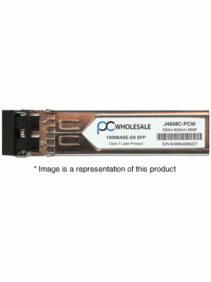 J4858C - 1000BASE-SX 550m MMF 850nm SFP
