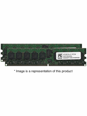 X5287A-Z - 2gb (2x1gb) PC2-5300 DDR2-667Mhz 1Rx4 ECC Registered Memory Kit